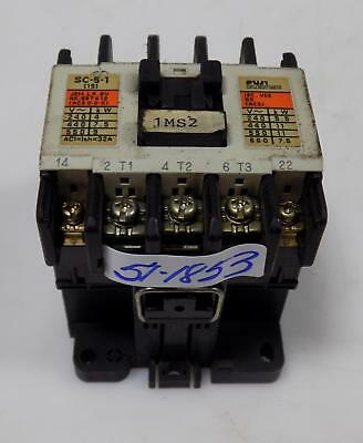 Fuji Electric Contactor Type Sc-5-1 4Nc0H0