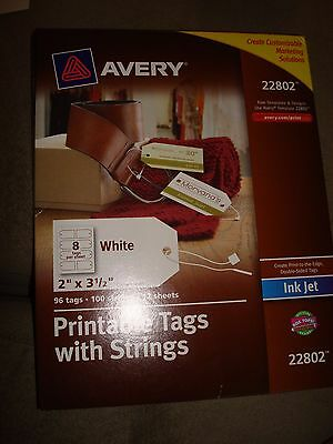 Avery Printable Tags With Strings 22802