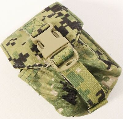 NEW Eagle Industries AOR2 Single Frag Grenade Pouch - MOLLE - Navy SEAL EIUI 5A2