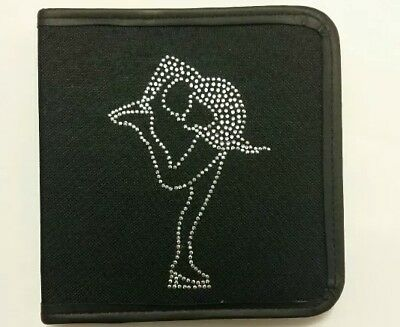 Sparkly Ice Skating dress (Clear/ Silver ) Layback  CD Case