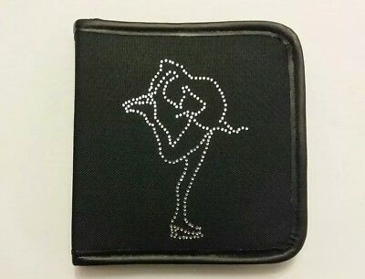 Sparkly Ice Skating dress (Silver Outline ) Layback  CD Case