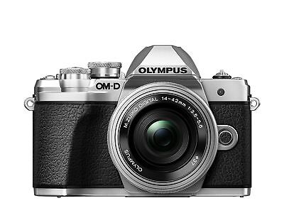 Olympus OM-D E-M10 Mark III Compact System Camera with 14-42 EZ Zoom Lens - S...