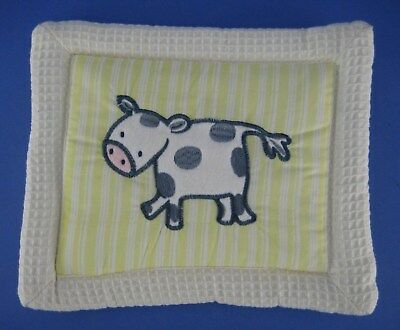 KidsLine Kids Line Barn Yard Animals Nursery Fabric Wall Hanging Decor Cow