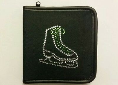 Sparkly Ice Skating Dress Boot (Green Laces )  CD Case