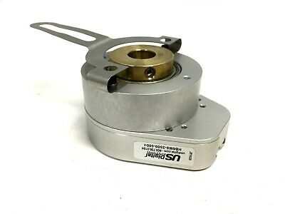 US Digital HB6MS-2500-500-I Rotary Optical Incremental Encoder CPR: 2500, 0.5""