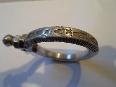 X-Mas Gift,absolutely Stunning,museum Quality Viking Mysterious Ar  Bracelet.