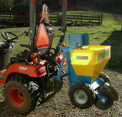 SPEDO POTATO PLANTER Automatic 3 Pt Hitch Mounted Digs, Plants & Fills in Behind