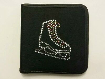 Sparkly Ice Skating Dress Boot (Multi Coloured  Laces )  CD Case