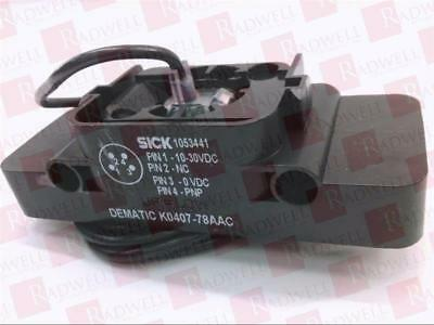 Sick Optic Electronic K0407-78Aac / K040778Aac (Used Tested Cleaned)