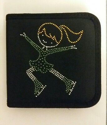 Sparkly Ice Skating dress CD Case  (Green Dress) Jumping Girl