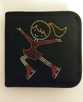 Sparkly Ice Skating dress CD Case  (Red Dress) Jumping Girl