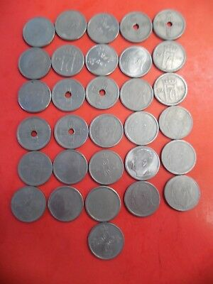 Lot of (31) Coins from Norway 25 Ore