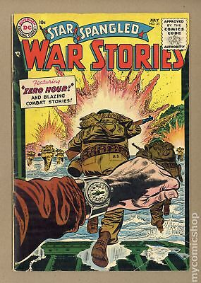 Star Spangled War Stories (DC) #3 to 204 #35 1955 VG 4.0