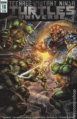 Teenage Mutant Ninja Turtles Universe (IDW) #16A NM Stock Image