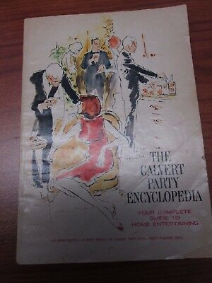 Calvert Party Encyclopedia 1968 whiskey