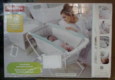 NEW OPEN BOX Fisher-Price Rock 'n Play Bassinet DYH35 $100