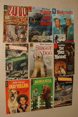 1950s & 60s TV SHOW AND MOVIE COMIC BOOK COLLECTION