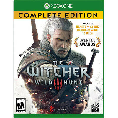 Witcher 3 Complete Edition Game Of The Year [M]