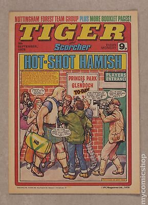 Tiger Tiger and Hurricane/Tiger and Jag/Tiger and Scorcher #780909 1978 FN 6.0