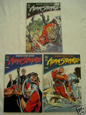 Adam Strange.complete 3 Part 1990 Deluxe Sq Bound Mini Series.andy & Adam Kubert