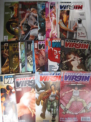 AMERICAN VIRGIN - COMPLETE SET of 23 by SEAGLE & CLOONAN. DC. VERTIGO. 2006