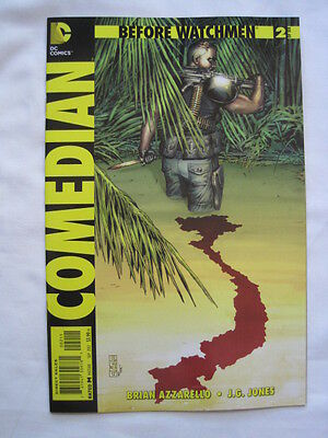 BEFORE WATCHMEN : COMEDIAN  # 2  by AZZARELLO & J.G.JONES. DC COMICS. 2012.