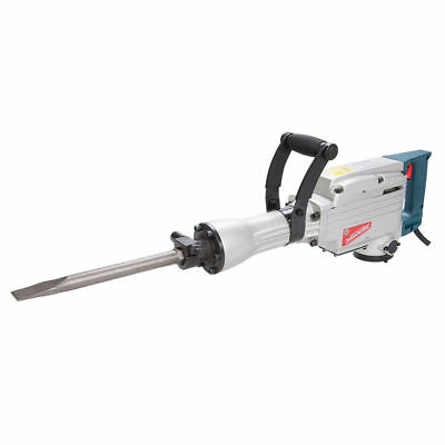 SILVERSTORM DEMOLITION HAMMER ROAD BREAKER 240v C/W NEW POINT, CHISEL & CASE