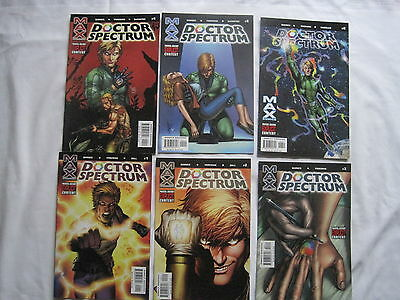 Doctor Spectrum : Complete 6 Issue Series. Explicit Content. Marvel Max. 2004