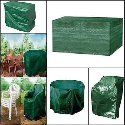 Waterproof Outdoor Table BBQ Bench Chair Garden Rain Cover Small Medium Large
