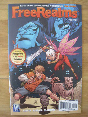 Free Realms  2. Virtual World.  Based On The Video Game. Wildstorm. 2009