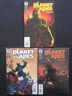 PLANET of the APES : The HUMAN WAR : COMPLETE 3 ISSUE SERIES. DH. 2001