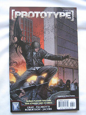 PROTOTYPE  6. BASED ON THE VIDEO GAME. By GRAY & PALMIOTTI. WILDSTORM 2009