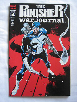 PUNISHER WAR JOURNAL  50. 1st SERIES.  ENHANCED COVER. FANTASTIC! 1993. MARVEL