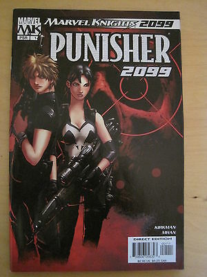 PUNISHER 2099 # 1 by KIRKMAN & MHAN. FANTASTIC ONE - SHOT.  MARVEL. 2004