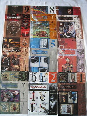 "SANDMAN 41 - 49  ""BRIEF LIVES"": COMPLETE 9 ISSUE STORY. GAIMAN,Thompson. DC.1992"