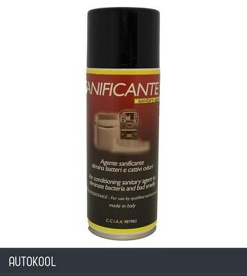 J&S Sanificante Car Air Con Deodorising Cleaner One Shot Bomb Spray 140505