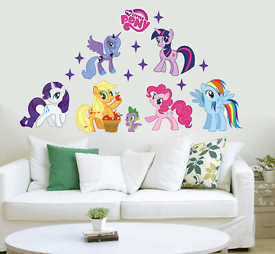 Wandtattoo My Little Pony Wandaufkleber Wandsticker Kinderzimmer