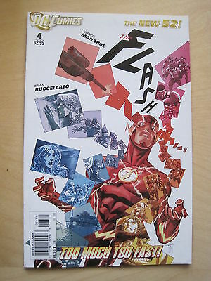 FLASH  4 by Francis Manapul & Brian Buccellato. 1st print. The NEW 52. DC 2012