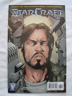 Starcraft 6. Based On The International Game. Star Craft.mature. Wildstorm. 2009