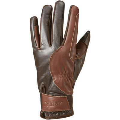 Caldene Palermo Womens Gloves Everyday Riding Glove - Brown All Sizes