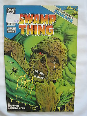 SWAMP THING 67 with a 6 page  HELLBLAZER PREQUEL PREVIEW. CONSTANTINE . DC.1987