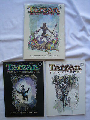 TARZAN : THE LOST ADVENTURE :COMPLETE 4 ISSUE SERIES. Arthur SUYDAM COVERS. 1995