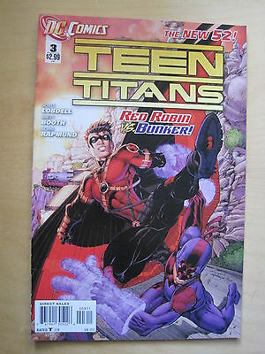 TEEN TITANS  3.   1st   PRINTING. RED ROBIN.   THE NEW 52 !     DC.  2012