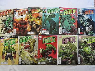 The Incredible HULK : complete run 1,2,3,4,5,6,7-11.AARON, SILVESTRI.MARVEL.2011