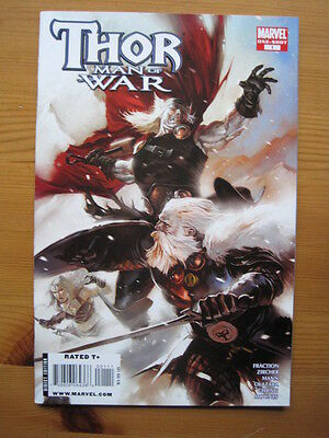 THOR : MAN OF WAR. ONE-SHOT by FRACTION, ZIRCHER etc.FANTASTIC! MARVEL. 2008