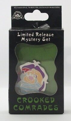 Disney Pins  CROOKED COMRADES MR. SMEE   LIMITED ED  MYSTERY   Single NEW IN BOX