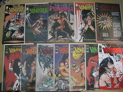 VENGEANCE of VAMPIRELLA  : COMPLETE 25 issue HARRIS 1994 SERIES. AMAZING COVERS!
