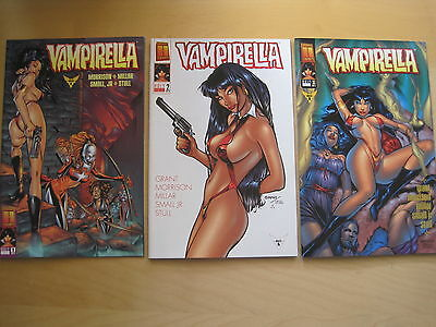 "VAMPIRELLA #s 4,5,6 : ""HOLY WAR"" : COMPLETE 3 ISSUE STORY by MORRISON & MILLAR"