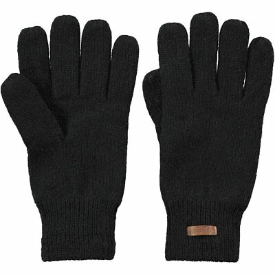 Barts Haakon Unisex Gloves - Black All Sizes