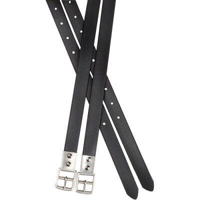 Collegiate Synthetic Strap Unisex Saddlery And Equipment Stirrup Leathers -
